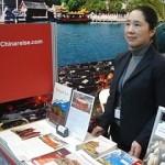 Frau Wang auf CMT Stuttgart