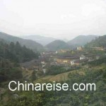Tulou Gruppe bei Yongding