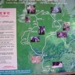 Infotafel am Eingang vom Mingfeng-Tal