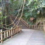 Gehweg im Mingfeng-Tal