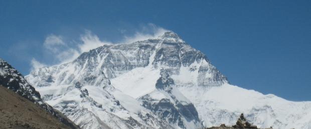 Mount Everest von der China-Seite