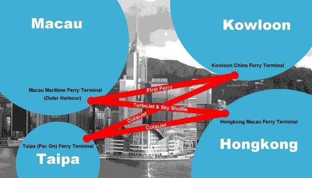 Verkehrsverbindungen zwischen Hongkong und Macau