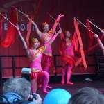 Chinesische Musik mit Tanz