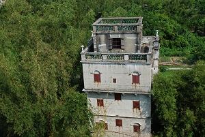 Dach von Kaiping Diaolou