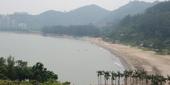 Hac Sa Beach in Macau