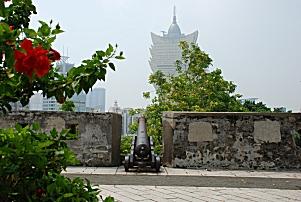 Die Festung Monte Fort in Macau