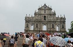 Ruinen von St. Pauls Kathedrale