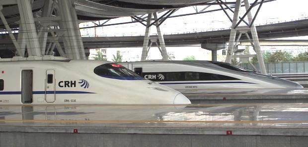 Hochgeschwindigkeitszug CRH in China