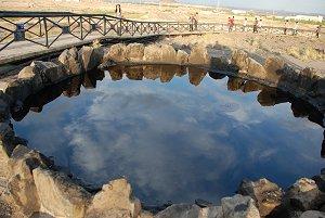 Berg des Schwarzen Öls in Karamay