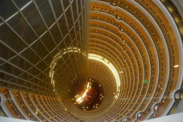 Jinmao Tower Hotel-Atrium