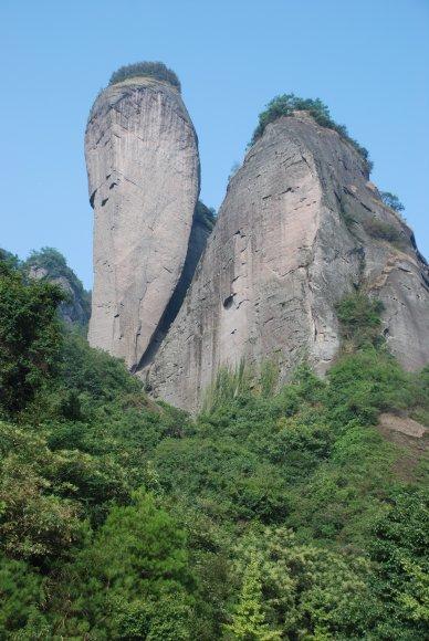 Der Chili-Berg im Langshan-Nationalpark
