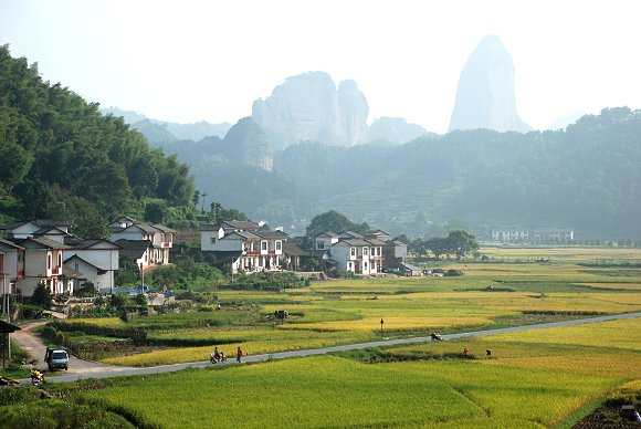 Kamelberg im Hintergrund im Langshan Nationalpark