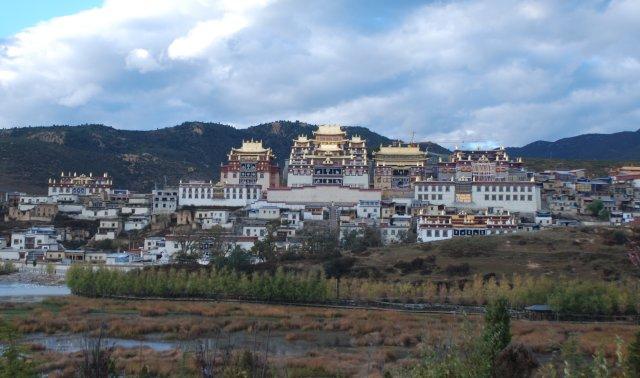 Lama-Kloster Songzanlin in Shangri-La