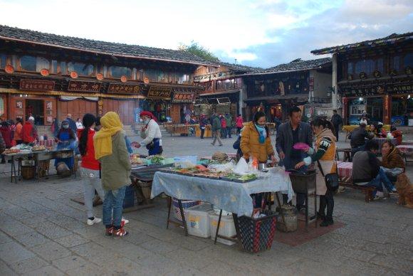 Marktplatz in Shangri-La