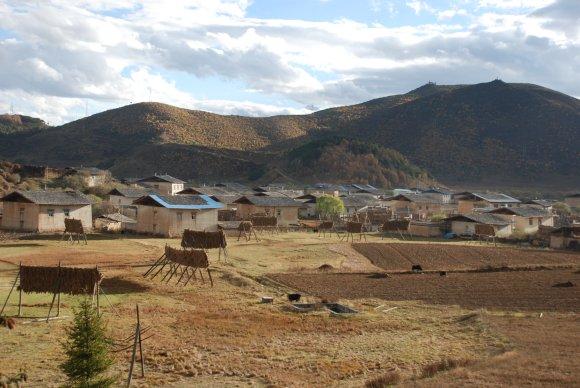 Tibetisches Dorf in Shangri-La