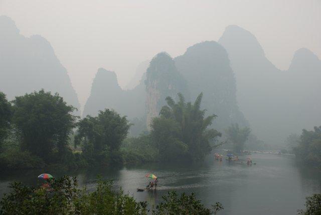 Yulong-Fluss in Yangshuo