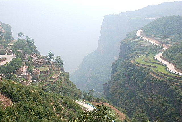 Himmelsroute in Taihang Grand Canyon