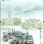 Kaiserkanal: Der Tianhou-Palast, auch der Himmelskönigin-Tempel genannt, in Tianjin