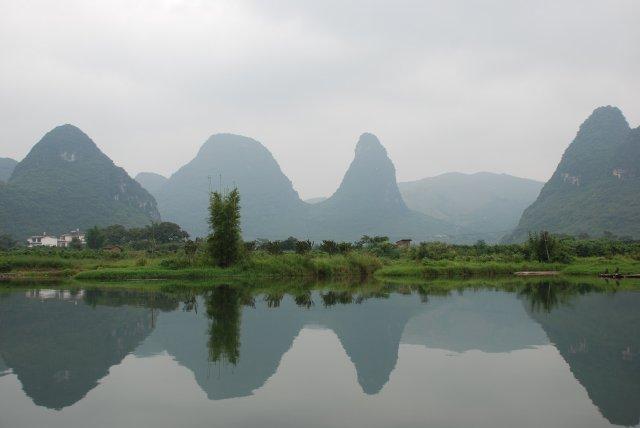 Karstberglandschaft in Guilin