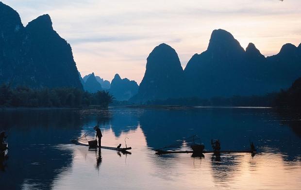 Li-Fluss in Guilin
