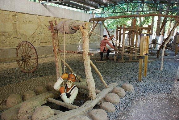 Das Karez-Bewässerungssystem in Turfan