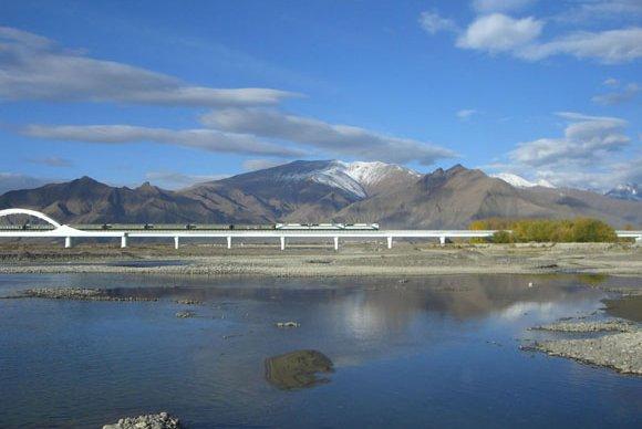 Tibet-Bahn nach Lhasa