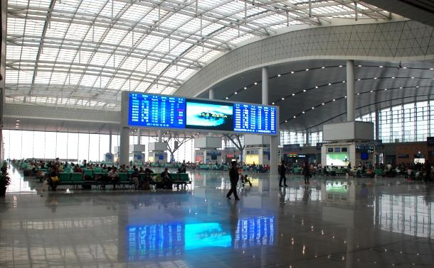 Bahnhof Changsha Süd
