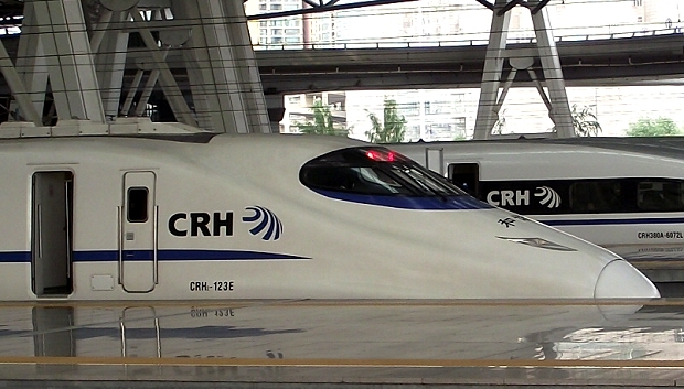 Chinas Hochgeschwindigkeitszug CRH