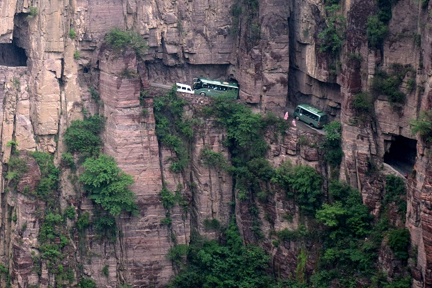 Guoliang Tunnel-Strasse