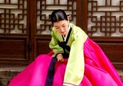 Hanbok von Südkorea