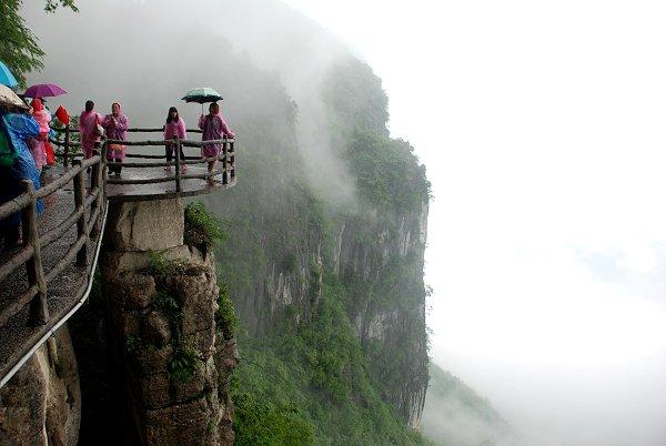 Enshi Grand Canyon: Qixingzhai Klippe Korridor