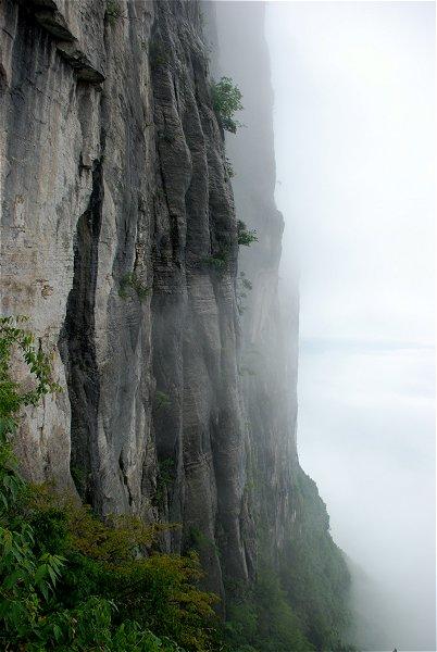 Enshi Grand Canyon: Klippe in Qixingzhai