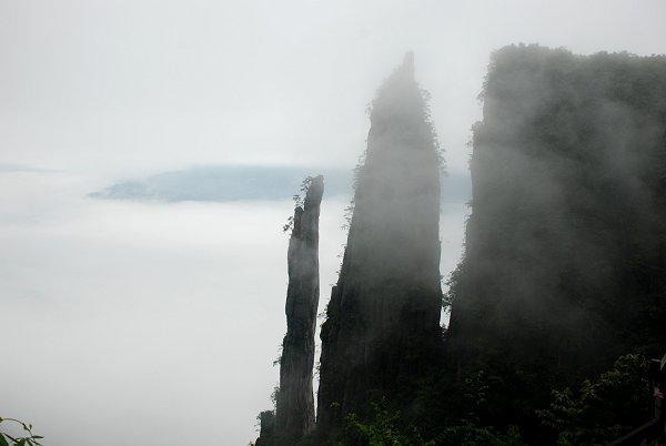 Enshi Grand Canyon: Felsen in Qixingzhai