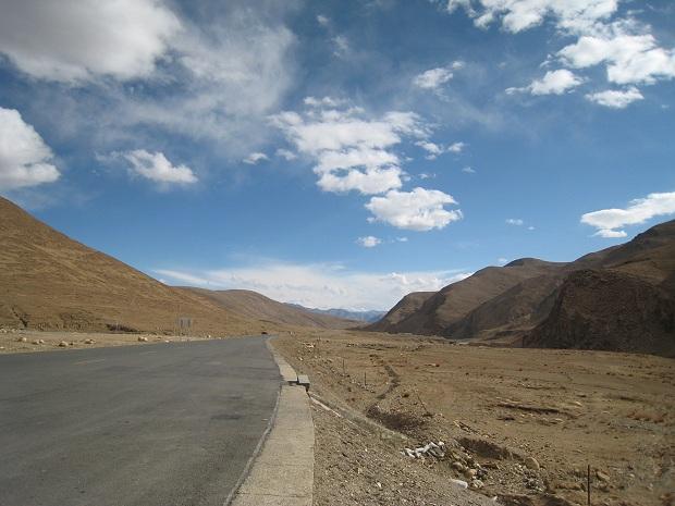 Strasse in Tibet