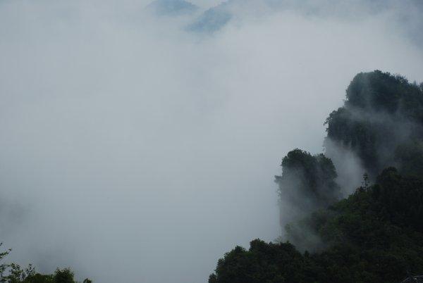 Enshi Grand Canyon: Qixingzhai mit Wolkenmeer
