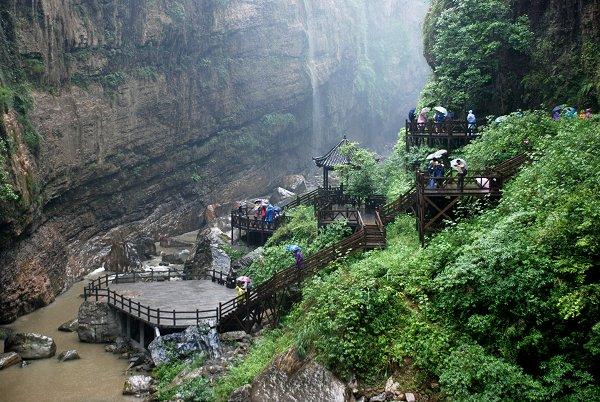 Enshi Grand Canyon: Yunlong-Schlucht