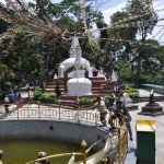 Swayambhunath nach dem Erdbeben