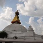 Boudhanath Stupa nach dem Erdbeben