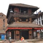 Bhaktapur Durbar Square nach dem Erdbeben