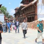 Kathmandu Durbar Square nach dem Erdbeben