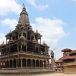 Patan Durbar Square nach dem Erdbeben