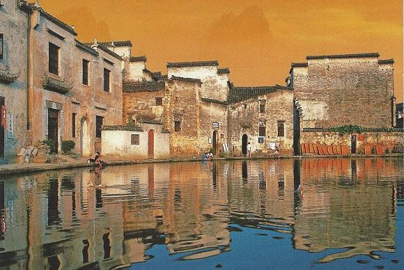 Das UNESCO-Dorf Hongcun