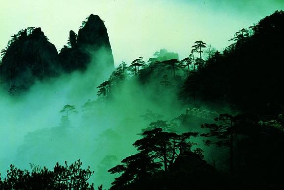 Huangshan-Gebirge