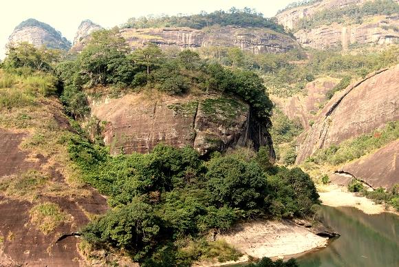 Danxia-Landschaft von Wuyishan
