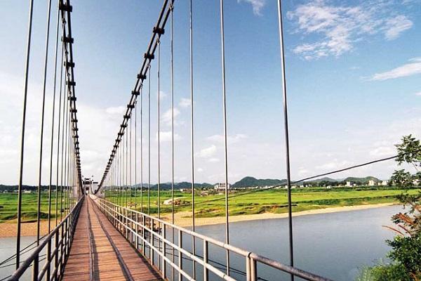 Huashanmiku Hängebrücke