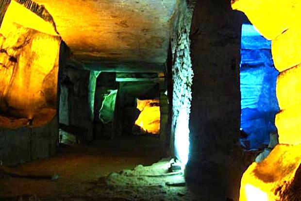 Huashanmiku Höhlenlabyrinth