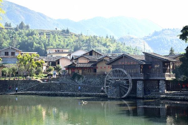 Dorf Yunshuiyao in Nanjing