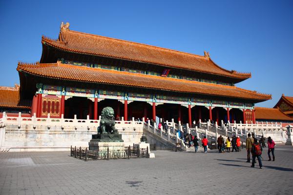 Kaiserpalast in Peking