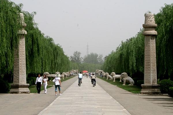 Allee der Tiere an den Ming-Gräbern