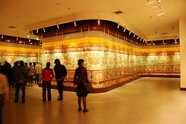 Das weltweit längste Thangka in Xining